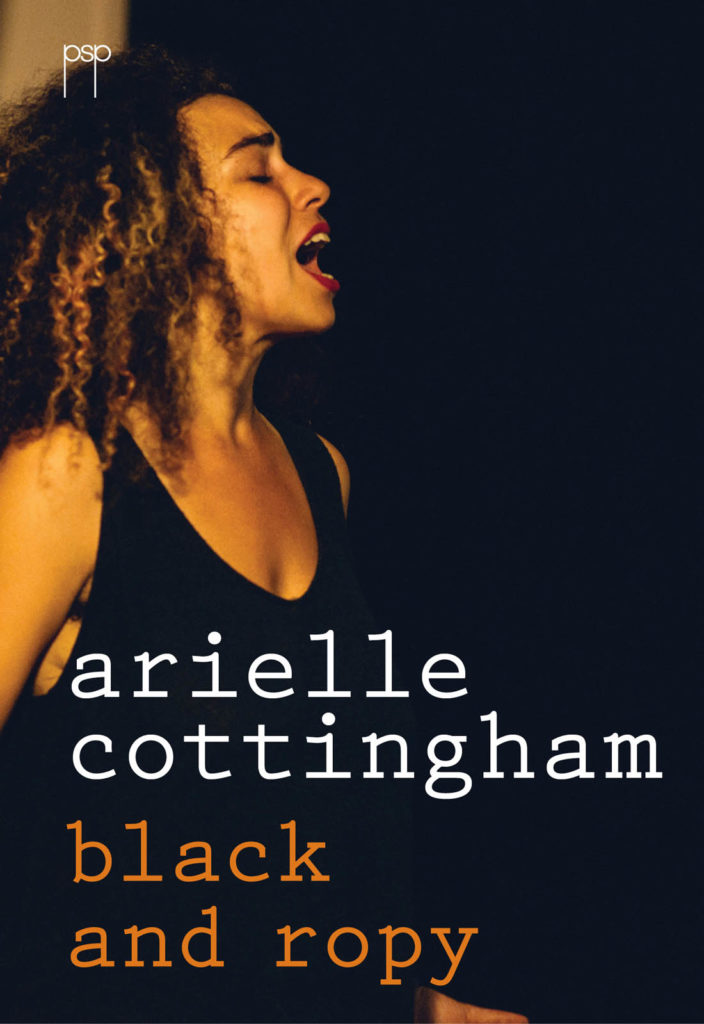 Arielle Cottingham.  Black and Ropy