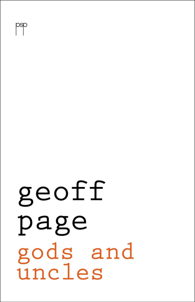 Geoff Page.  Gods and Uncles