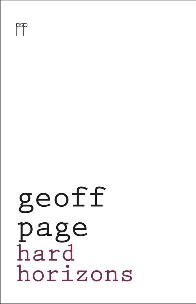 Geoff Page. Hard Horizons