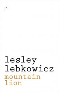Mountain Lion (paperback)